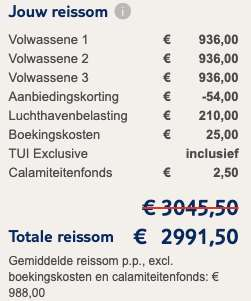 9 dagen naar Curaçao voor €988