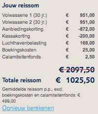 9 dagen Suriname €499