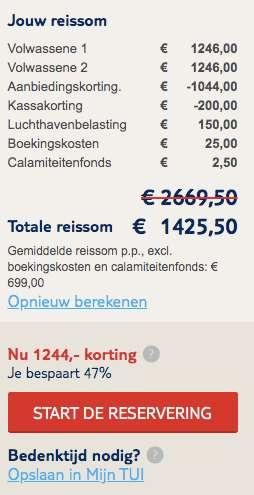 9 dagen zanzibar voor €699