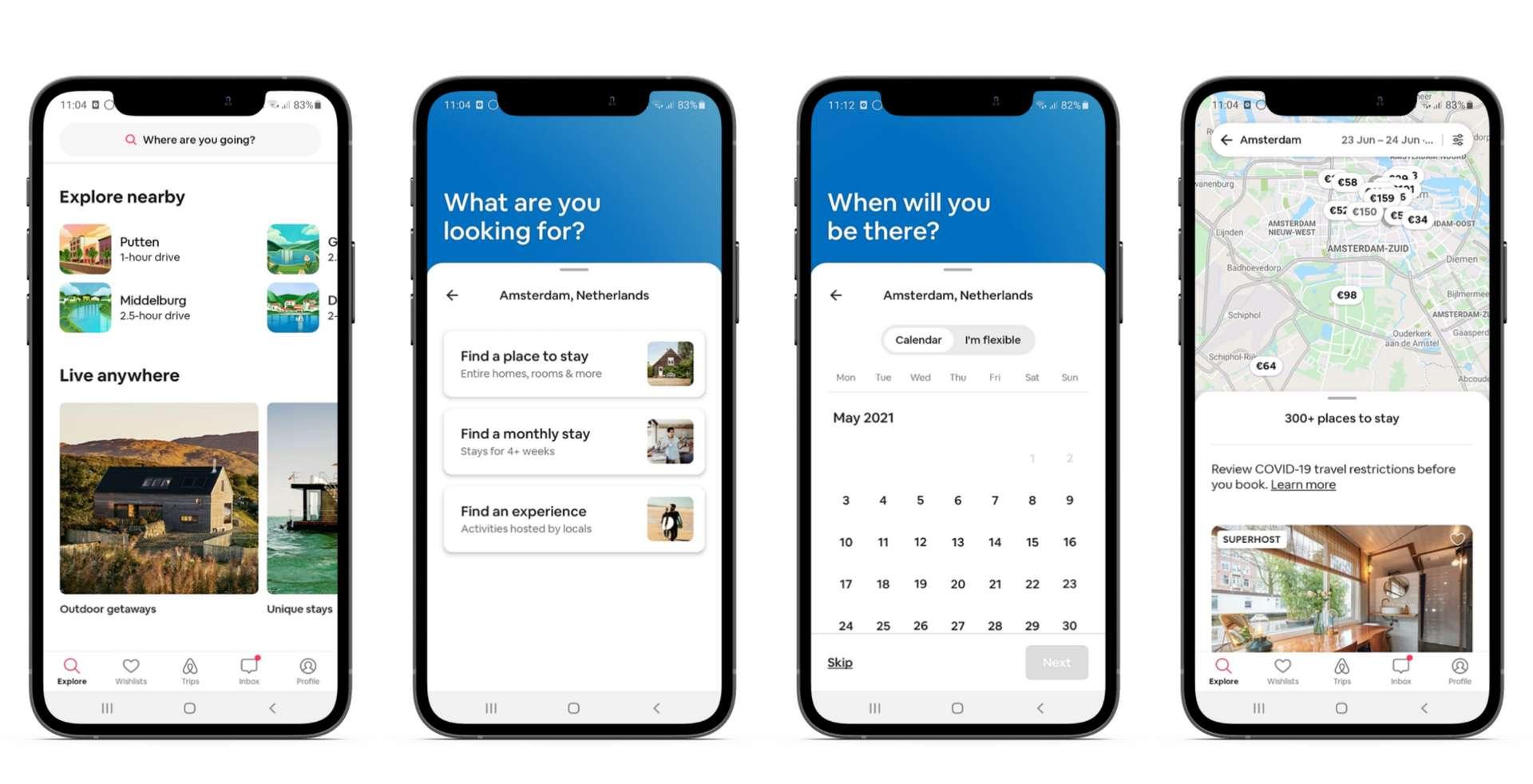 Hoe werkt Airbnb