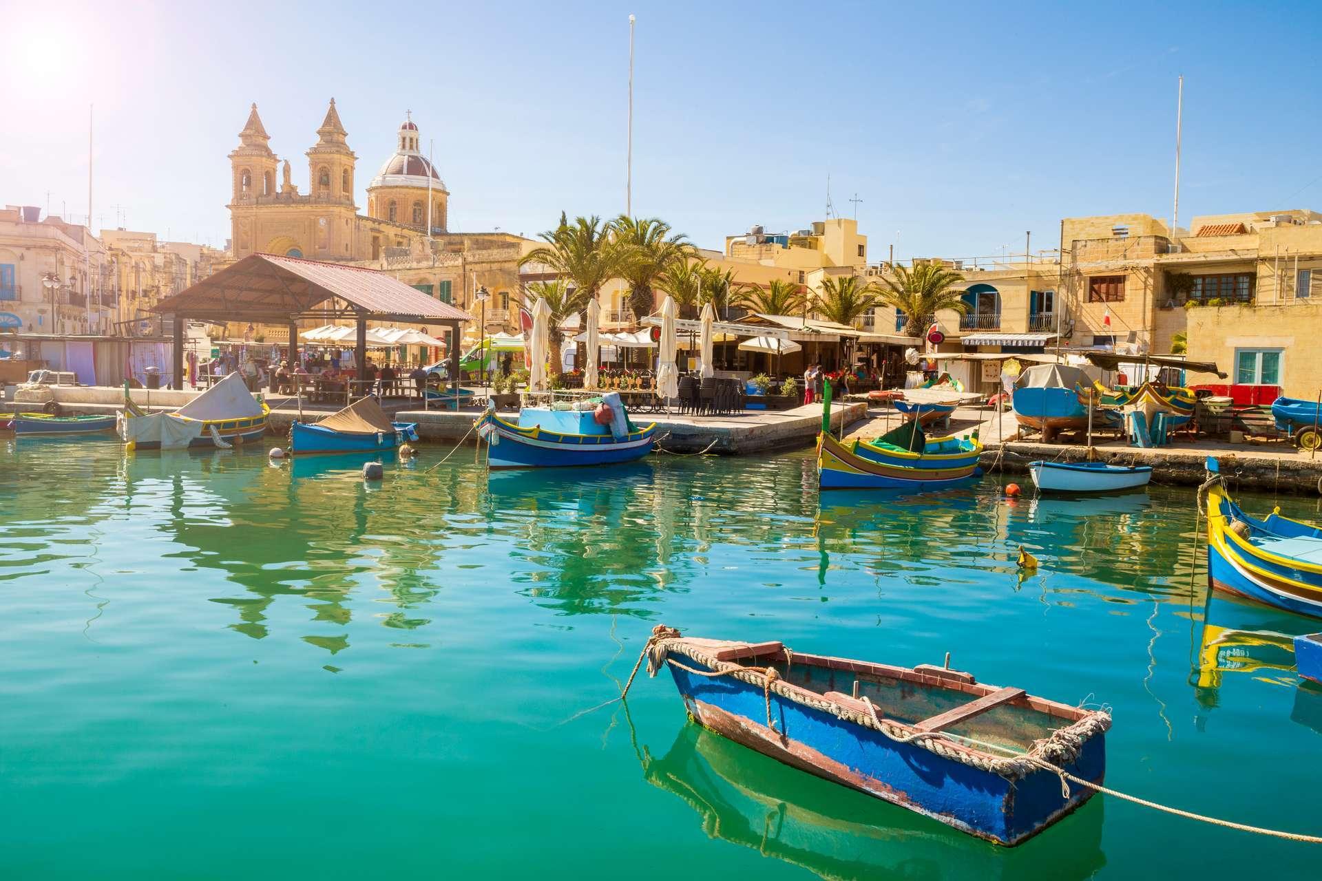 Eliza was here vakantie naar Malta
