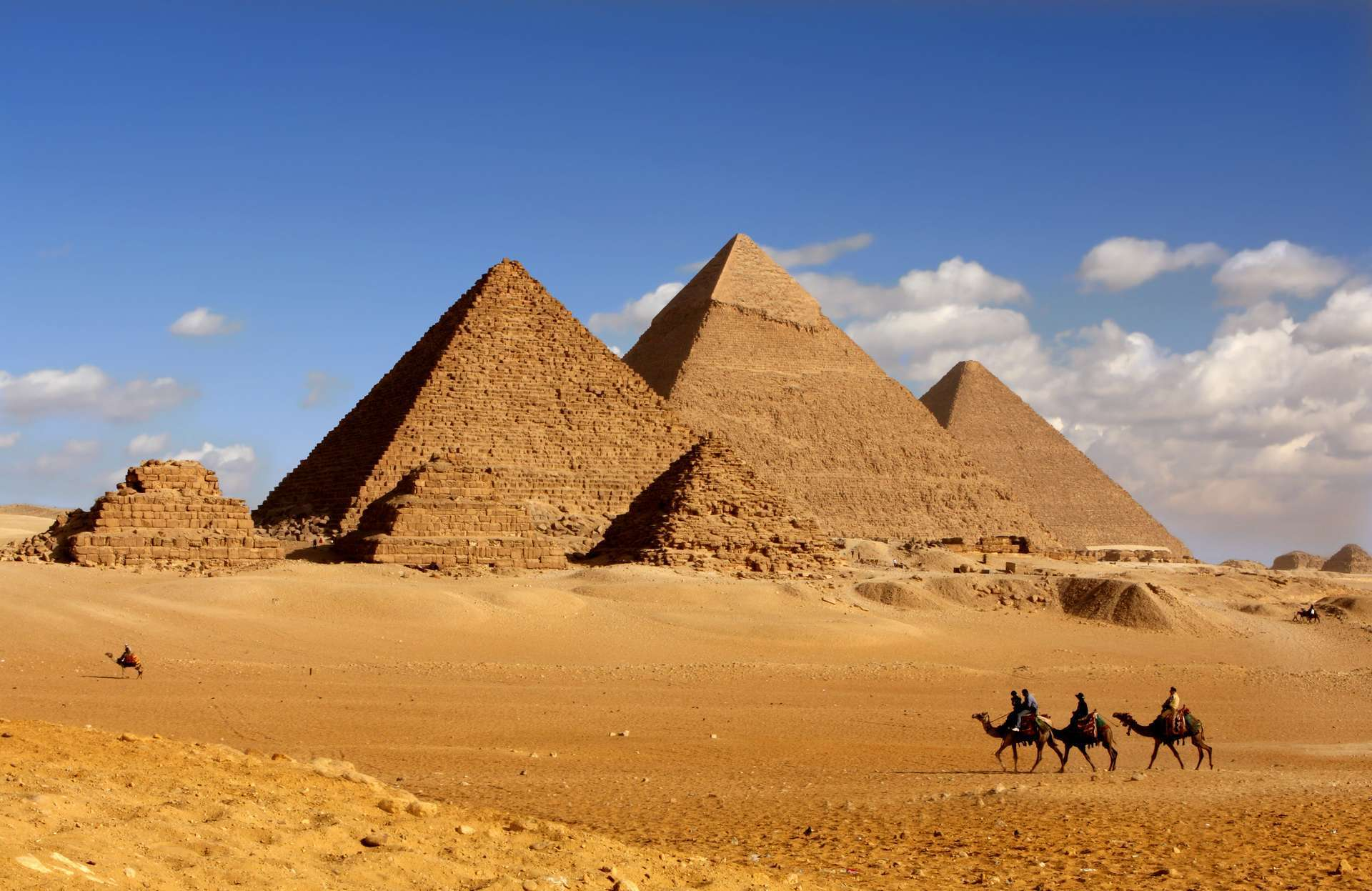 Virtueel reizen piramide