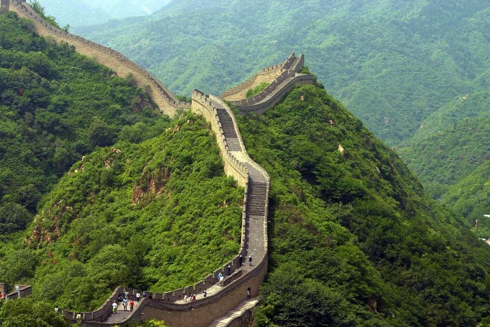 Virtueel reizen Chinese muur