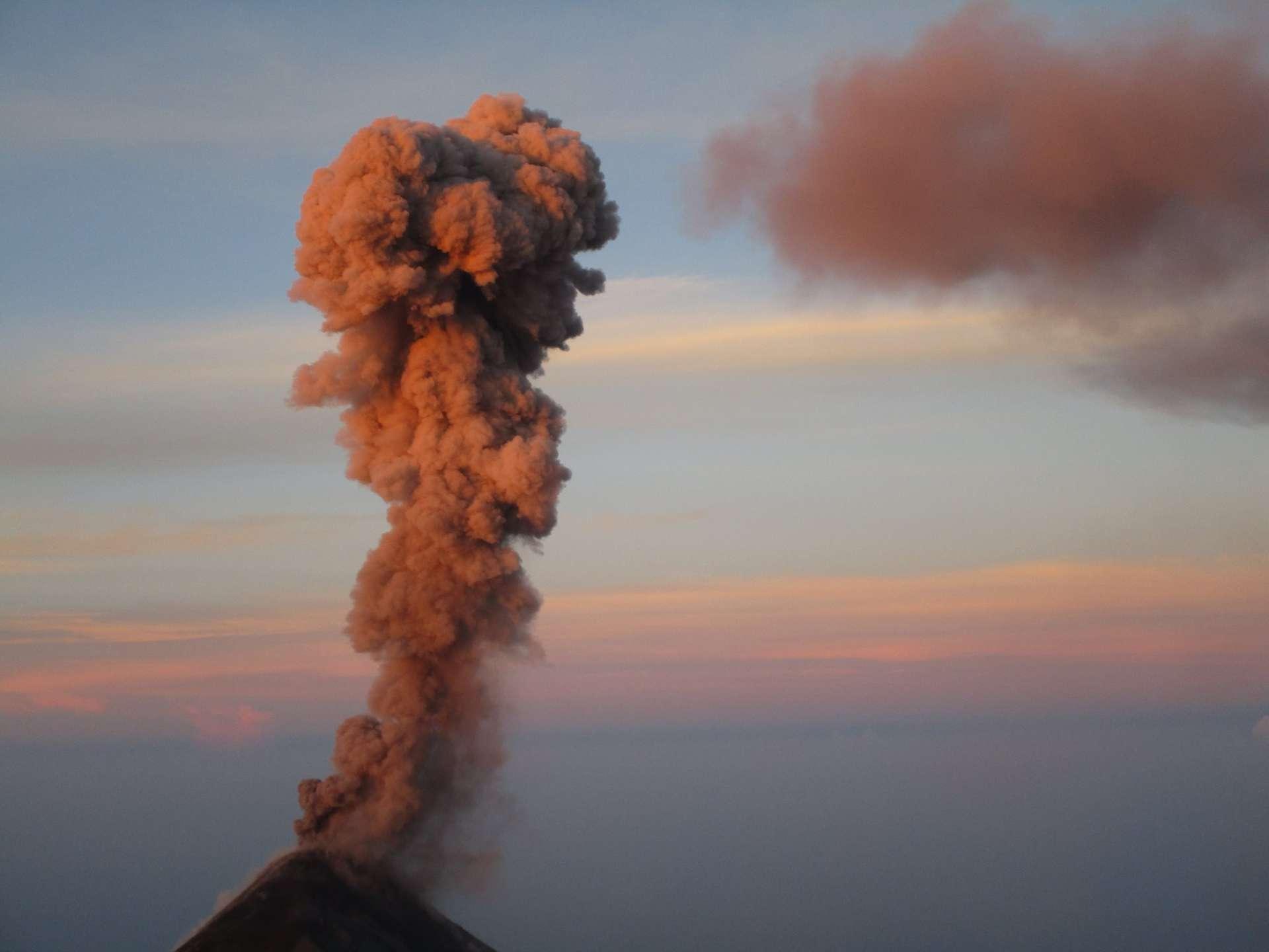 Guatemala. Acatenango, vulkaan