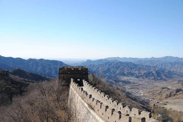 Chinese muur 4
