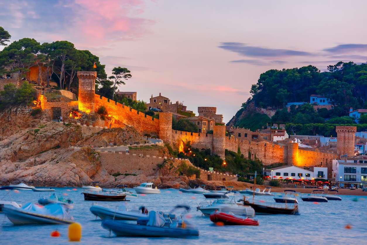 Spanje, Costa Brava, Tossa de Mar
