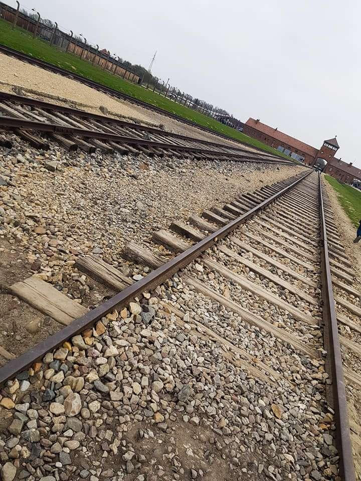 Treinspoor Auschwitz Krakau