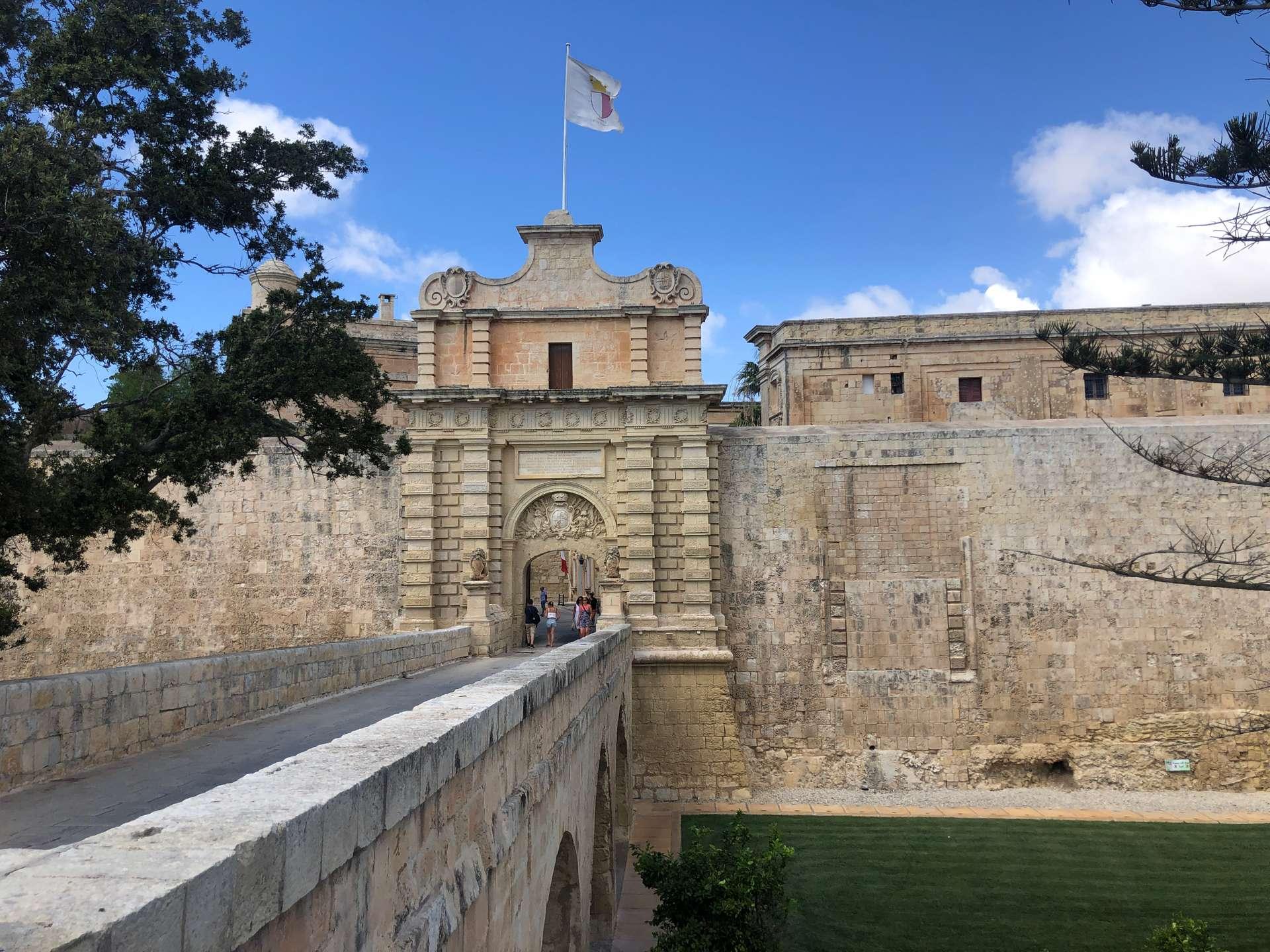 Vilhena Gate Mdina