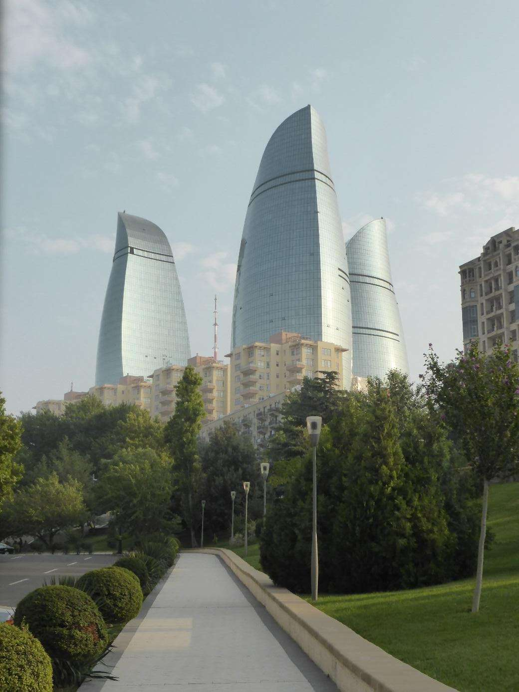 Azerbeidzjan, Baku, Flame Towers
