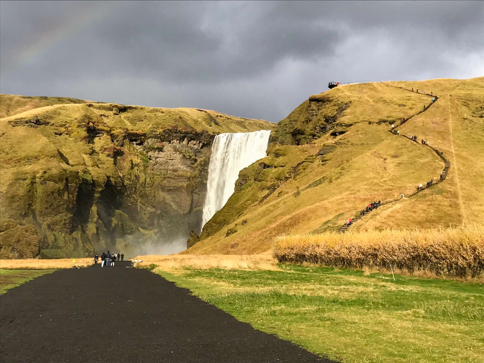 Skógafoss waterval IJsland