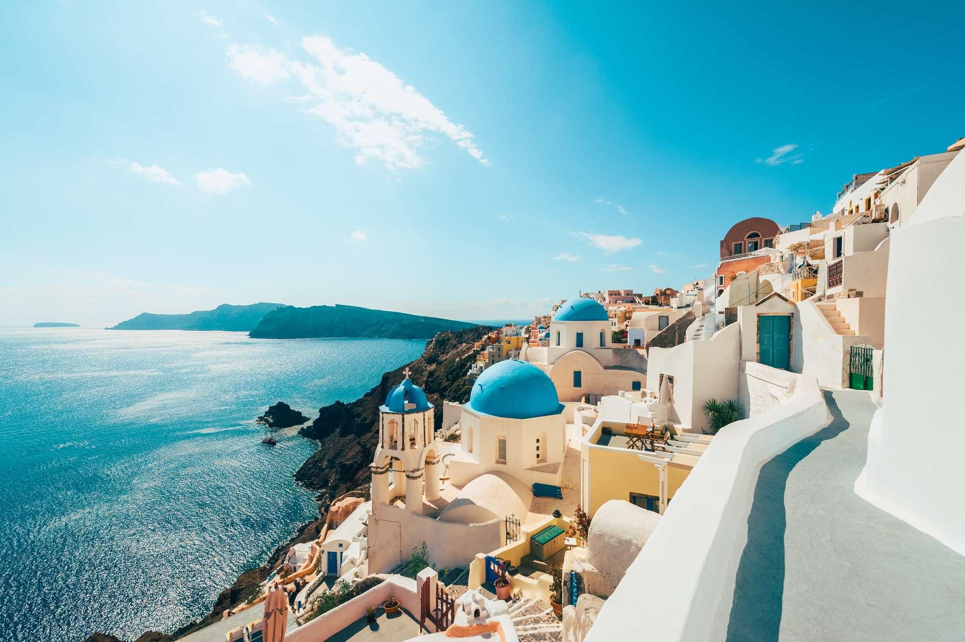 Griekenland eiland vakantie santorini