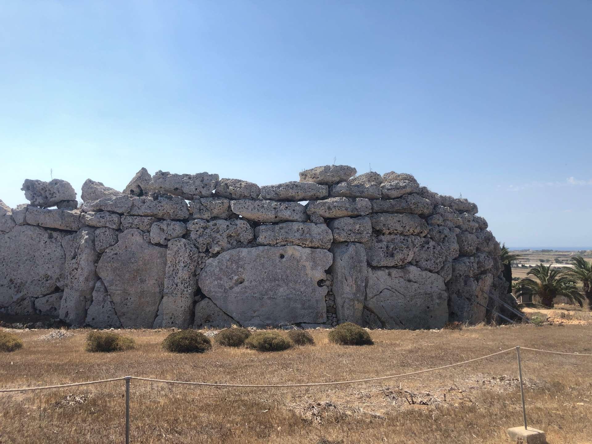 Ġgantija tempels in Gozo
