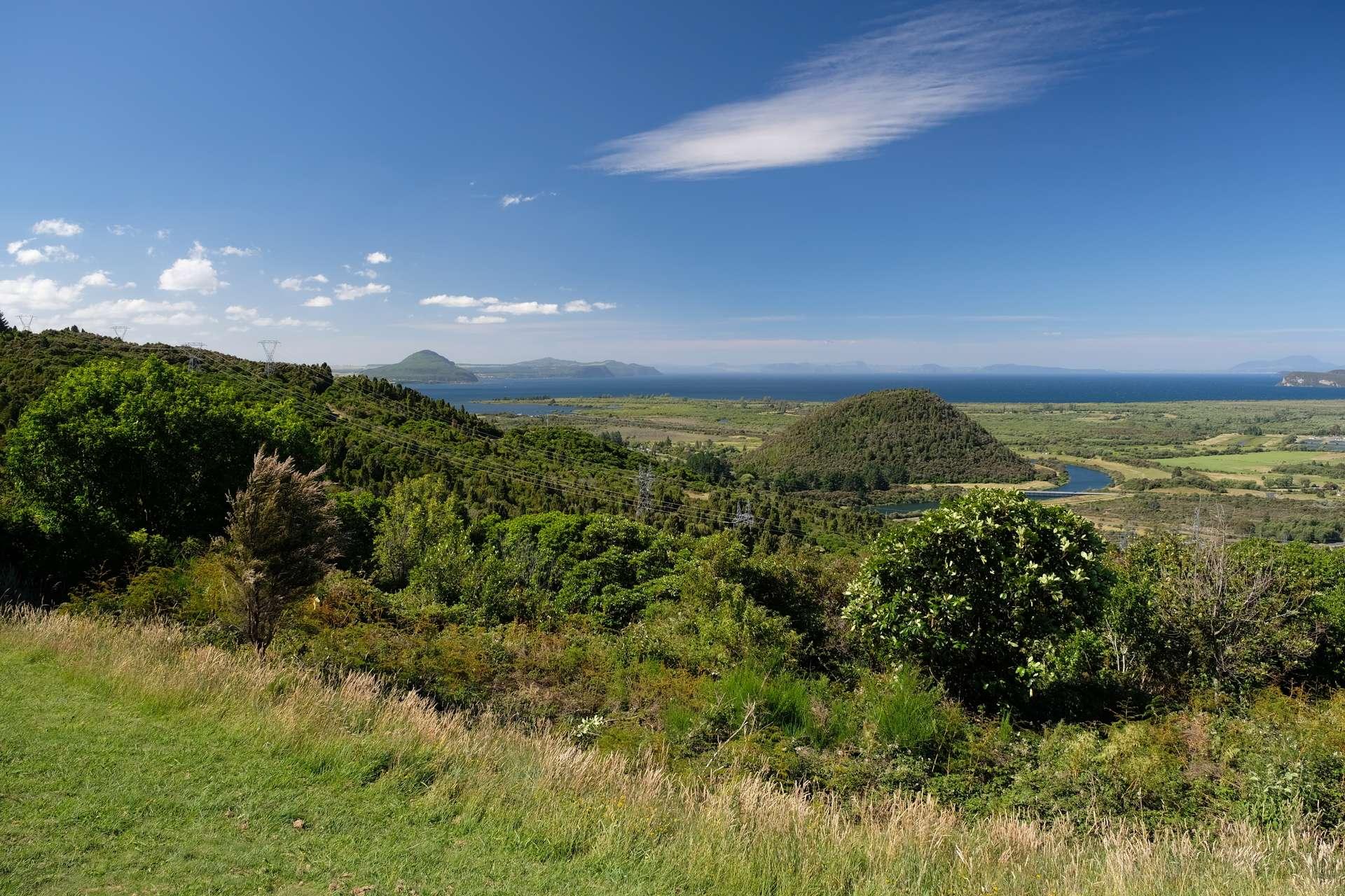 Nieuw-Zeeland, groen uitzicht