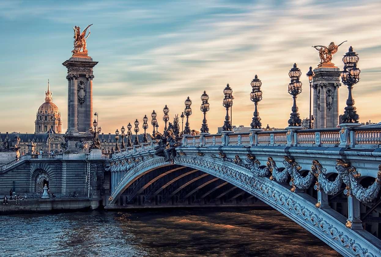 Frankrijk, Parijs, Pont Alexandre III