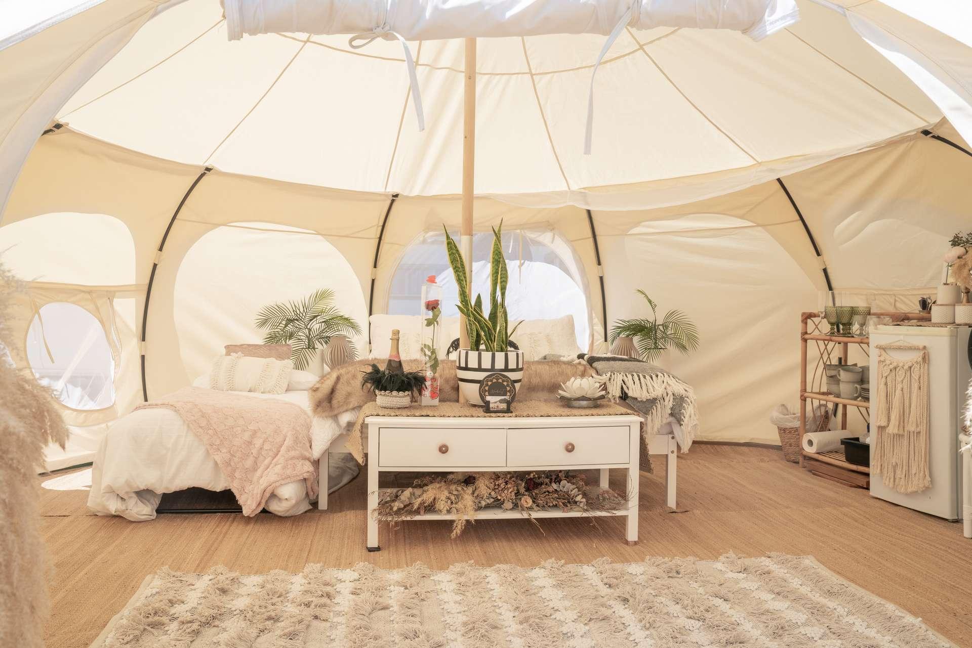 Glamping Nederland luxe kamperen