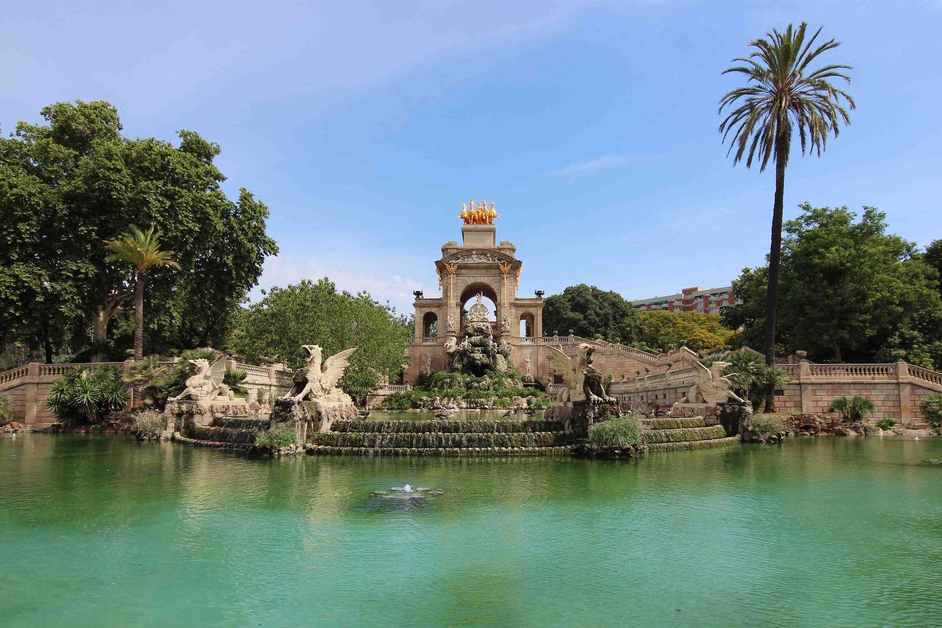 Spanje, Barcelona, Parc de la Ciutadella