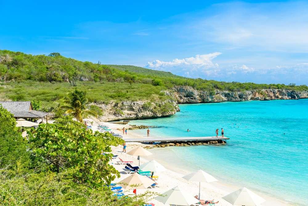 Curaçao Porto Marie beach