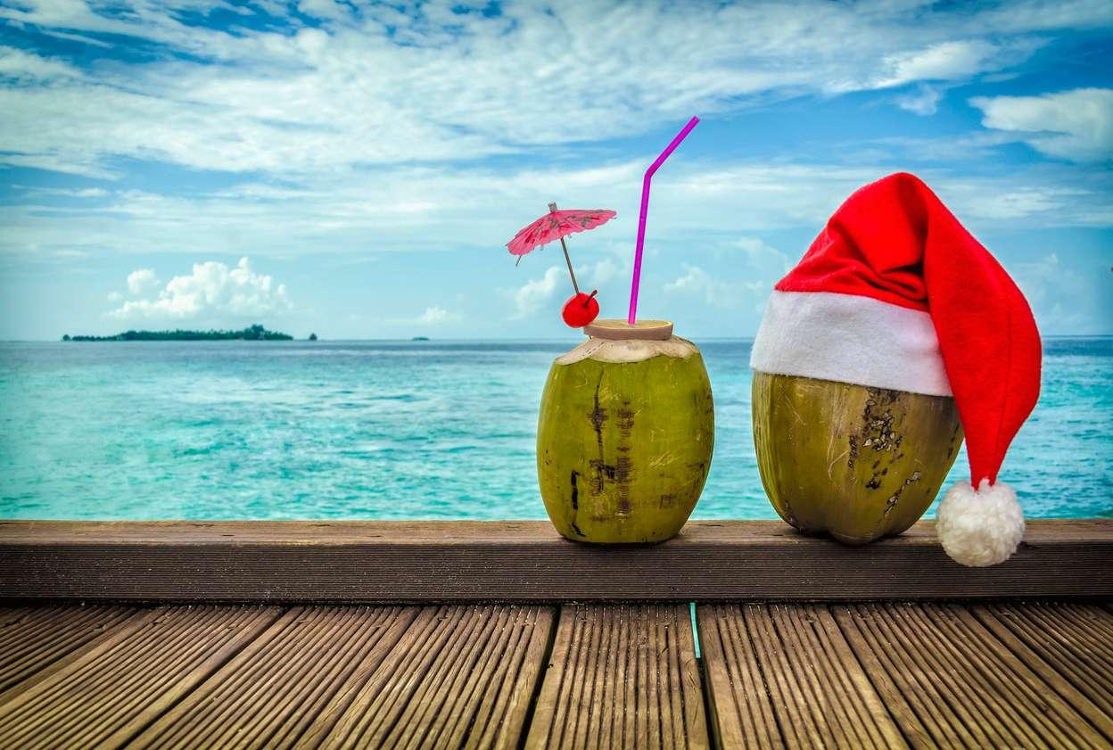 Kerstvakantie op het strand