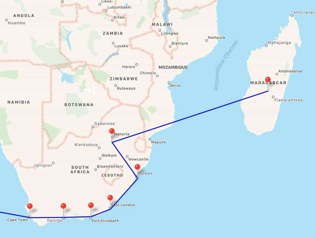 afrika route