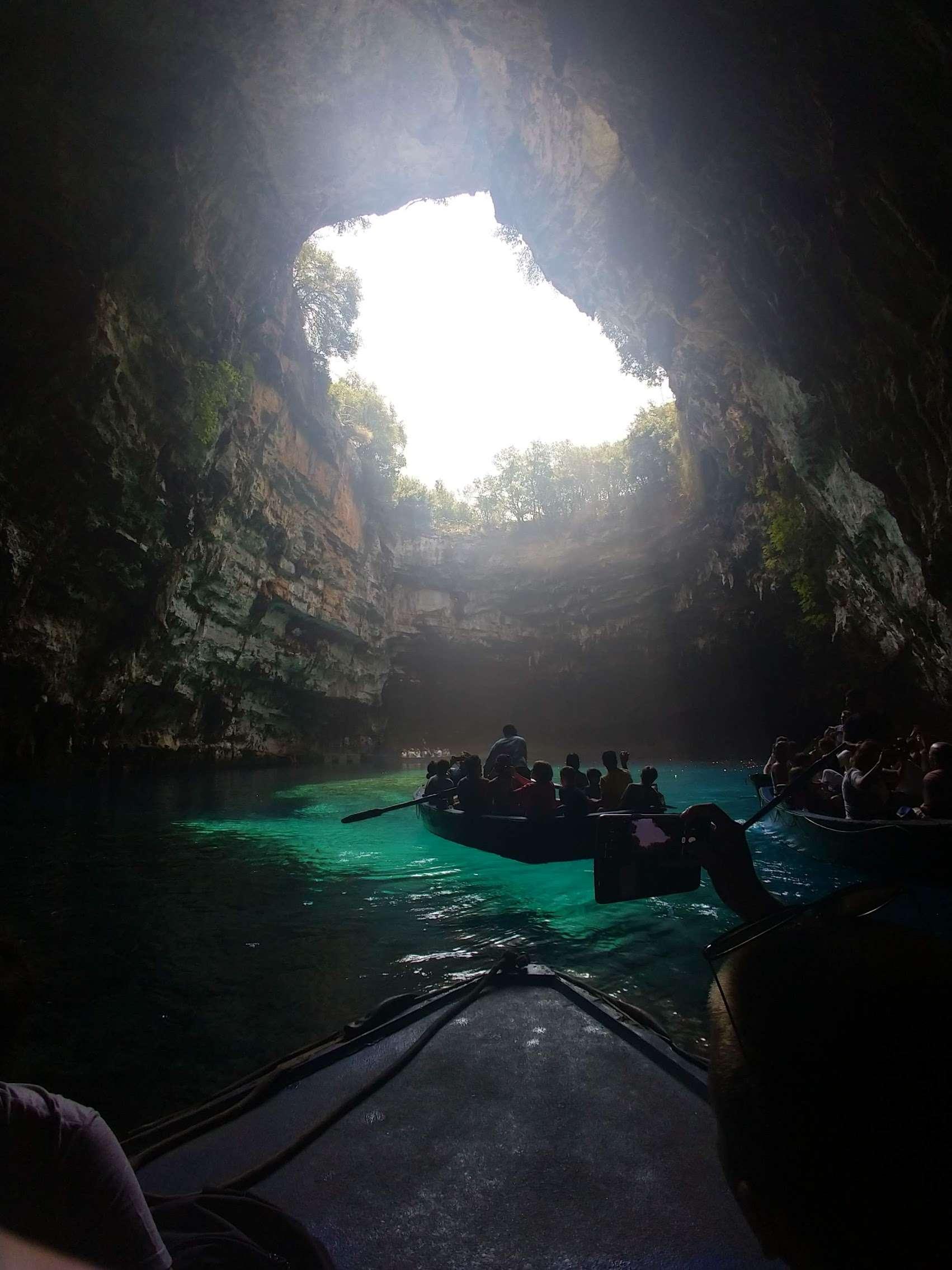 Melissani Cave Kefalonia