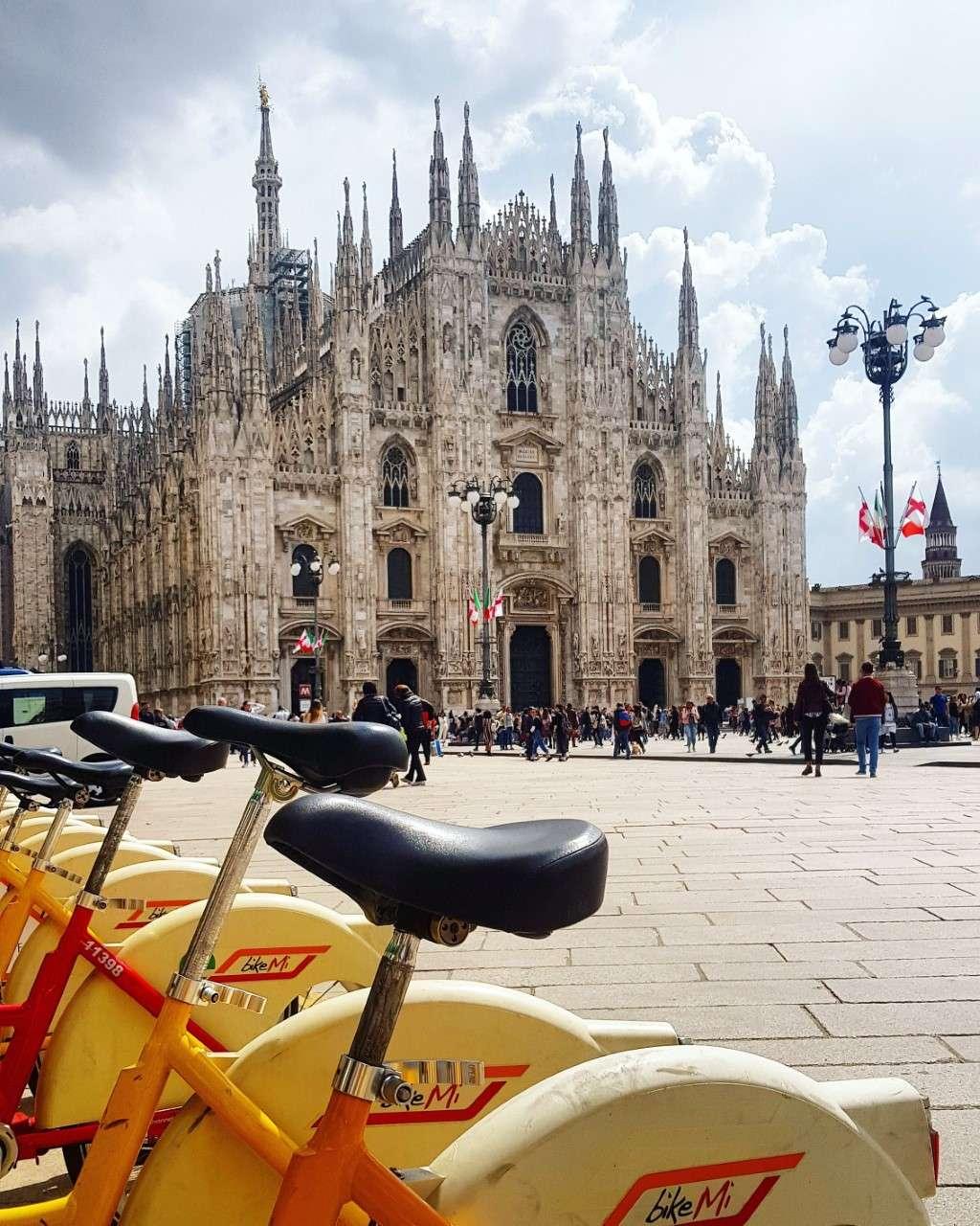 Italië, Milaan, Dom van Milaan