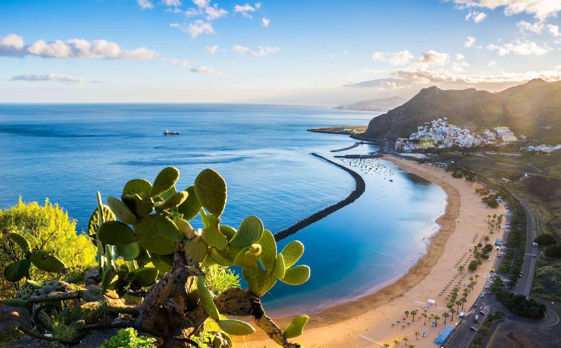 Canarische Eilanden uitzicht strand