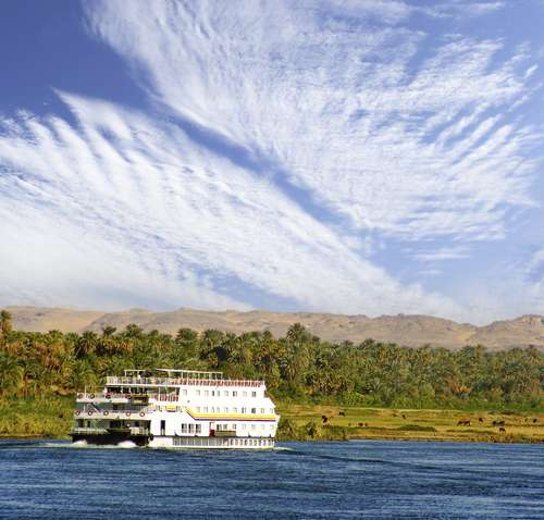 Egypte Boat Nijl