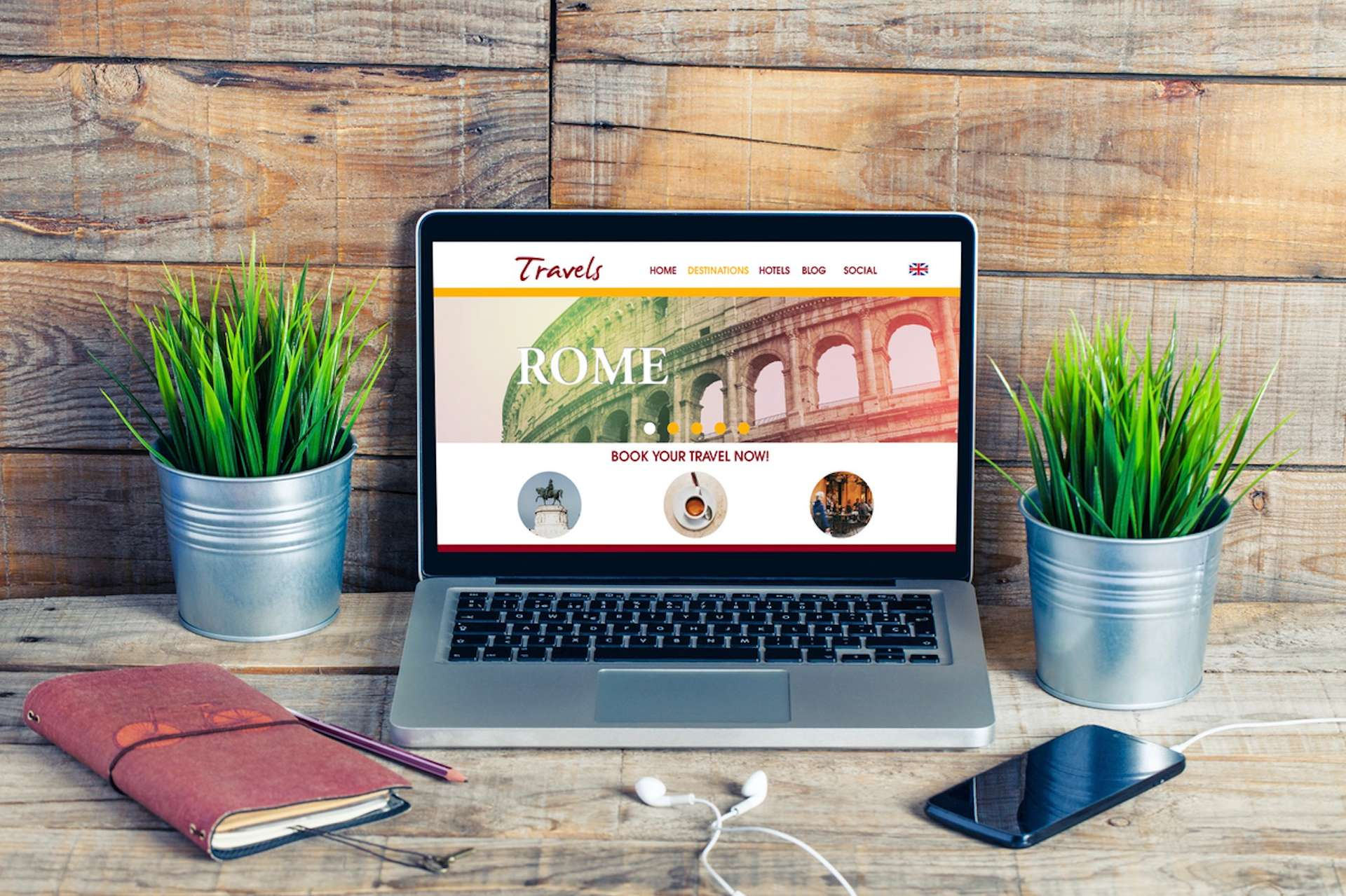 Website hotel zelf
