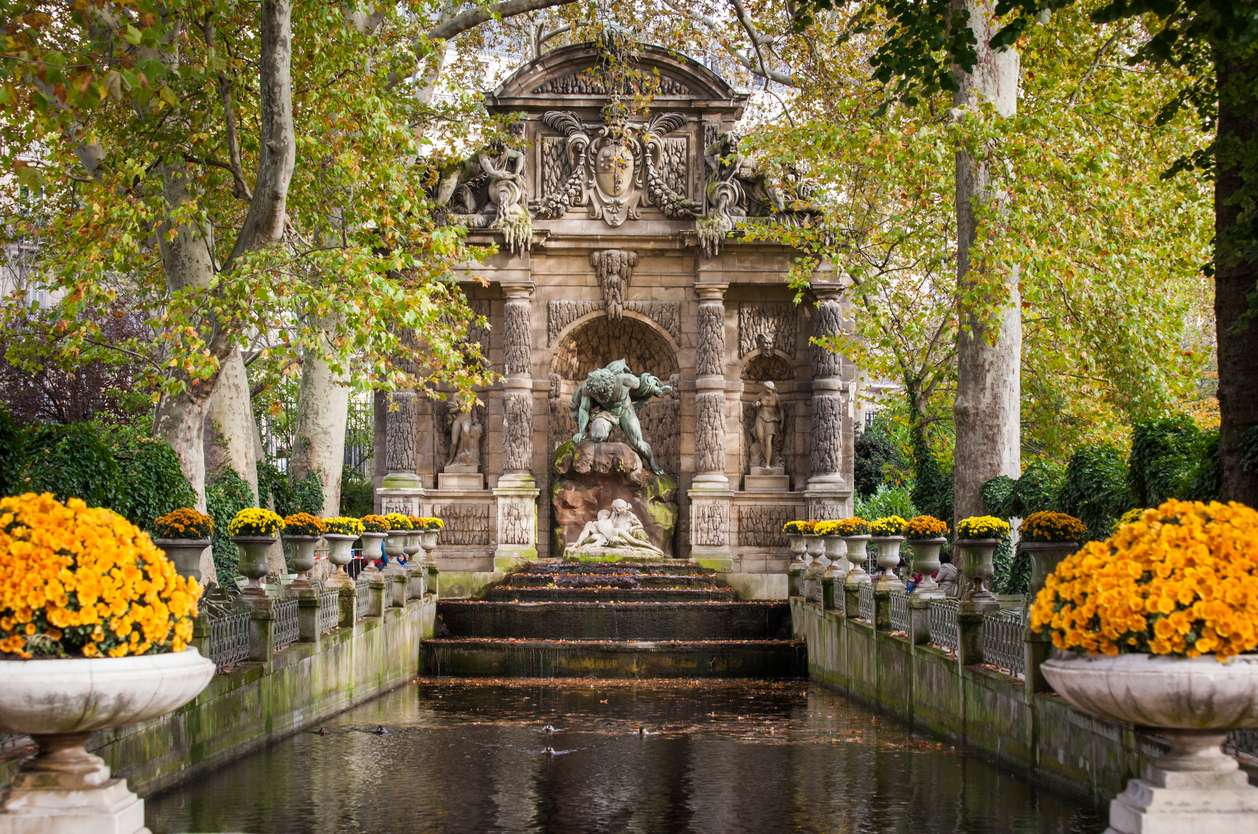 Frankrijk, Parijs, Le Jardin du Luxembourg