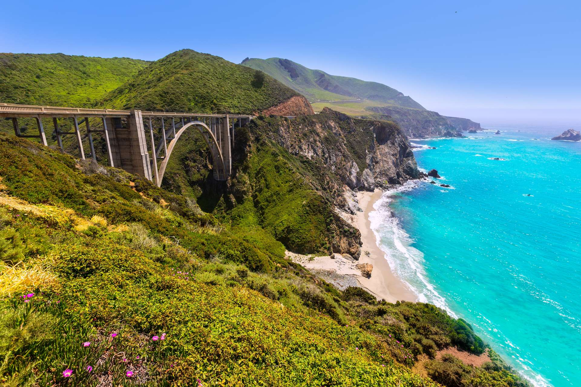 amerika highway 1 big sur