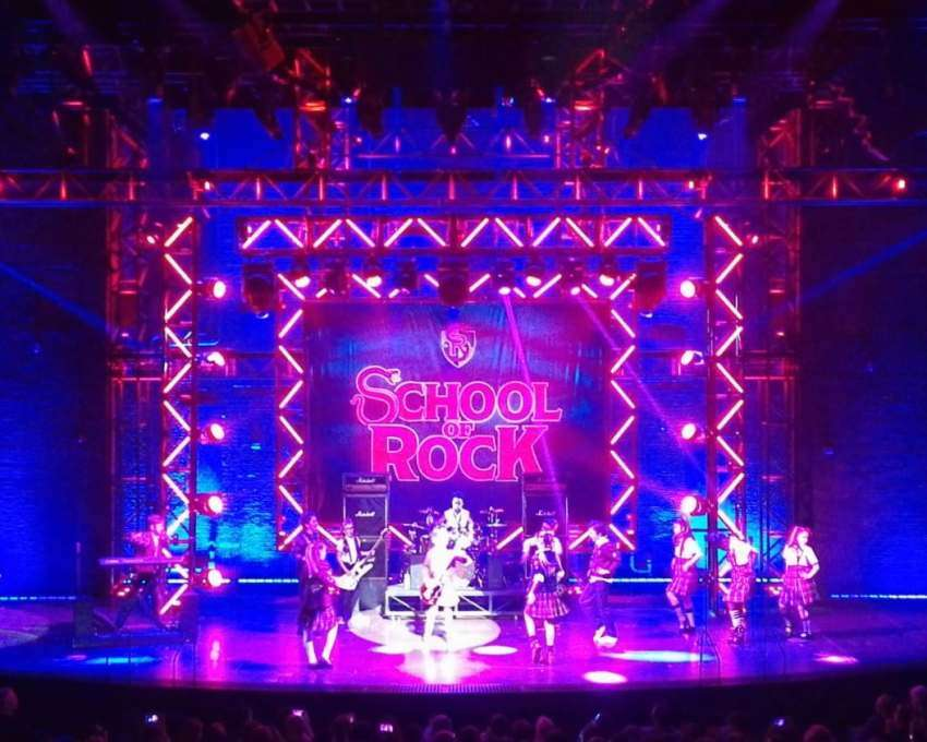 School of Rock musical Londen