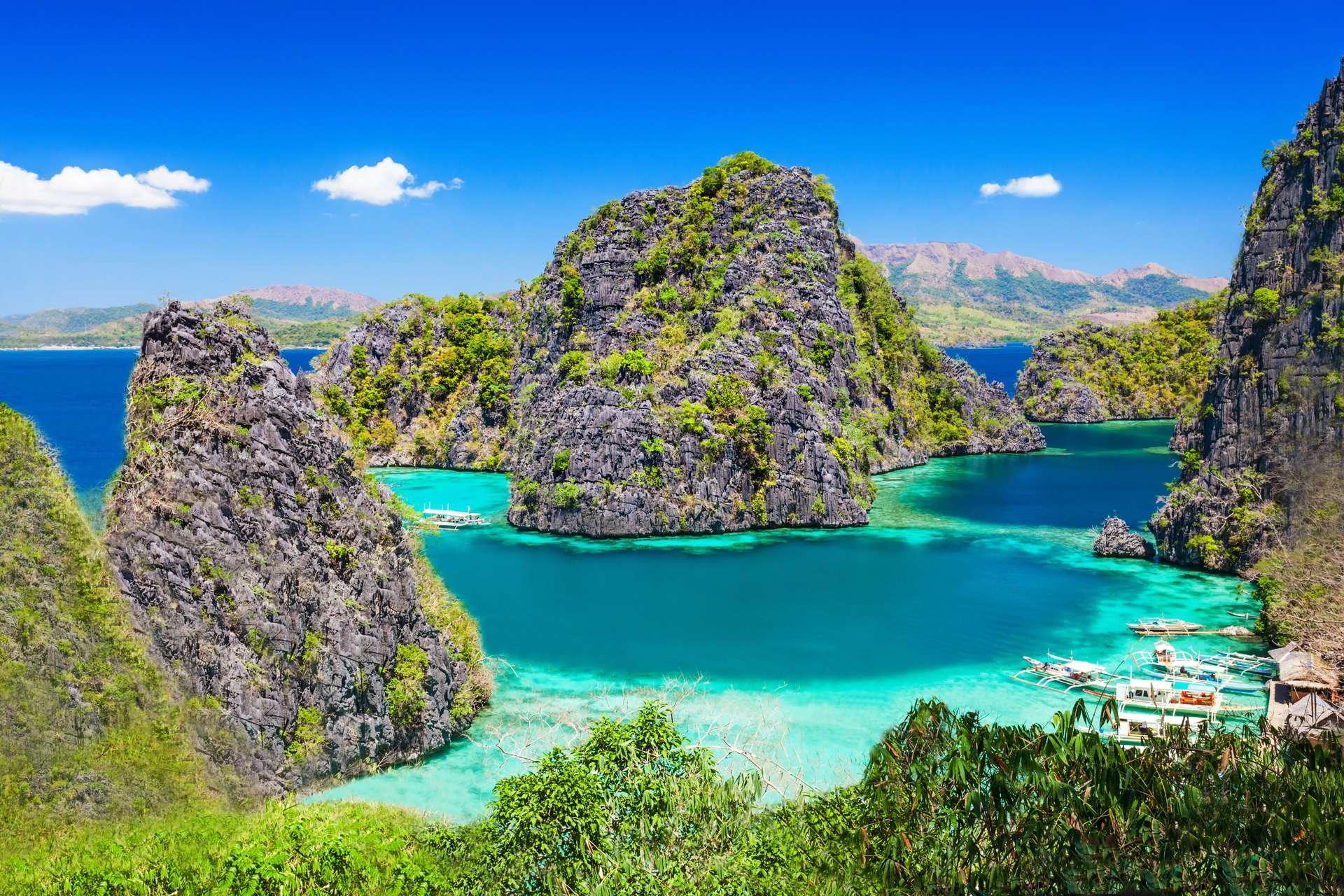 Filipijnen lagoon