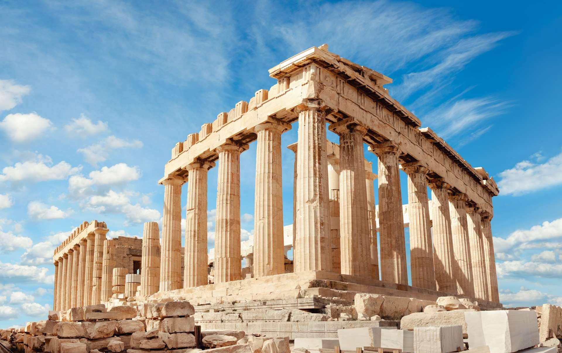 Griekenland Athene Acropolis Parthenon temple