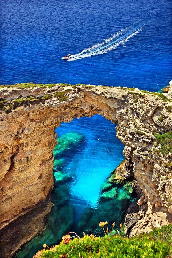 Griekenland Corfu Kerkyra Trypitos