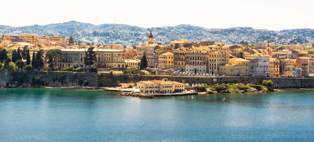 Griekenland Corfu panorama