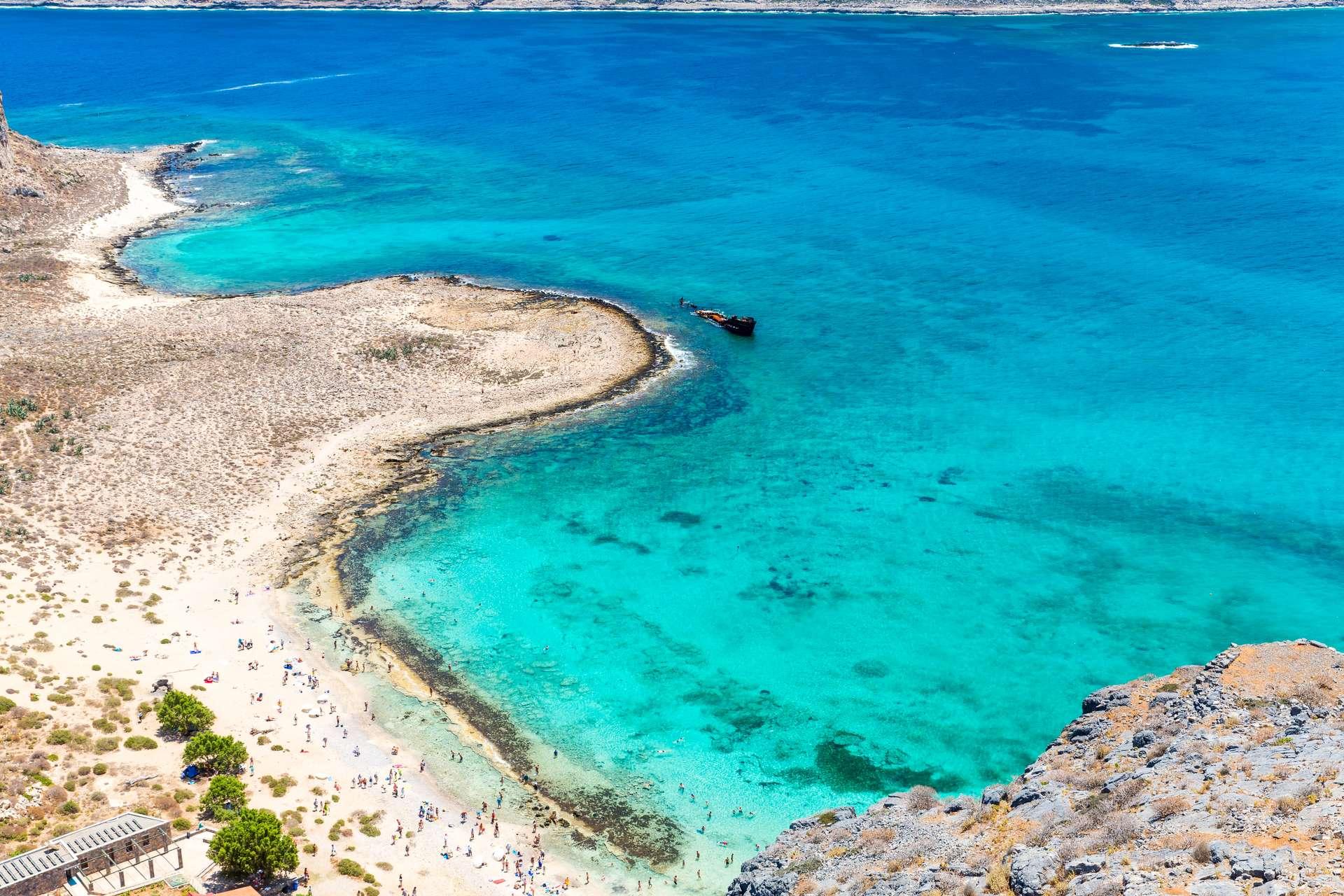 Griekenland Kreta Balos Beach