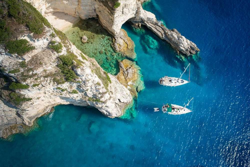 Griekenland Paxos island
