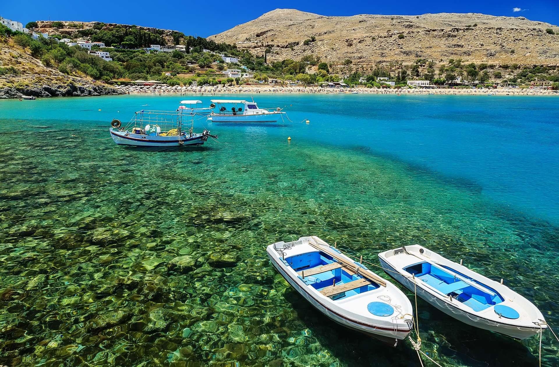 Griekenland Rhodos Lindos Bay