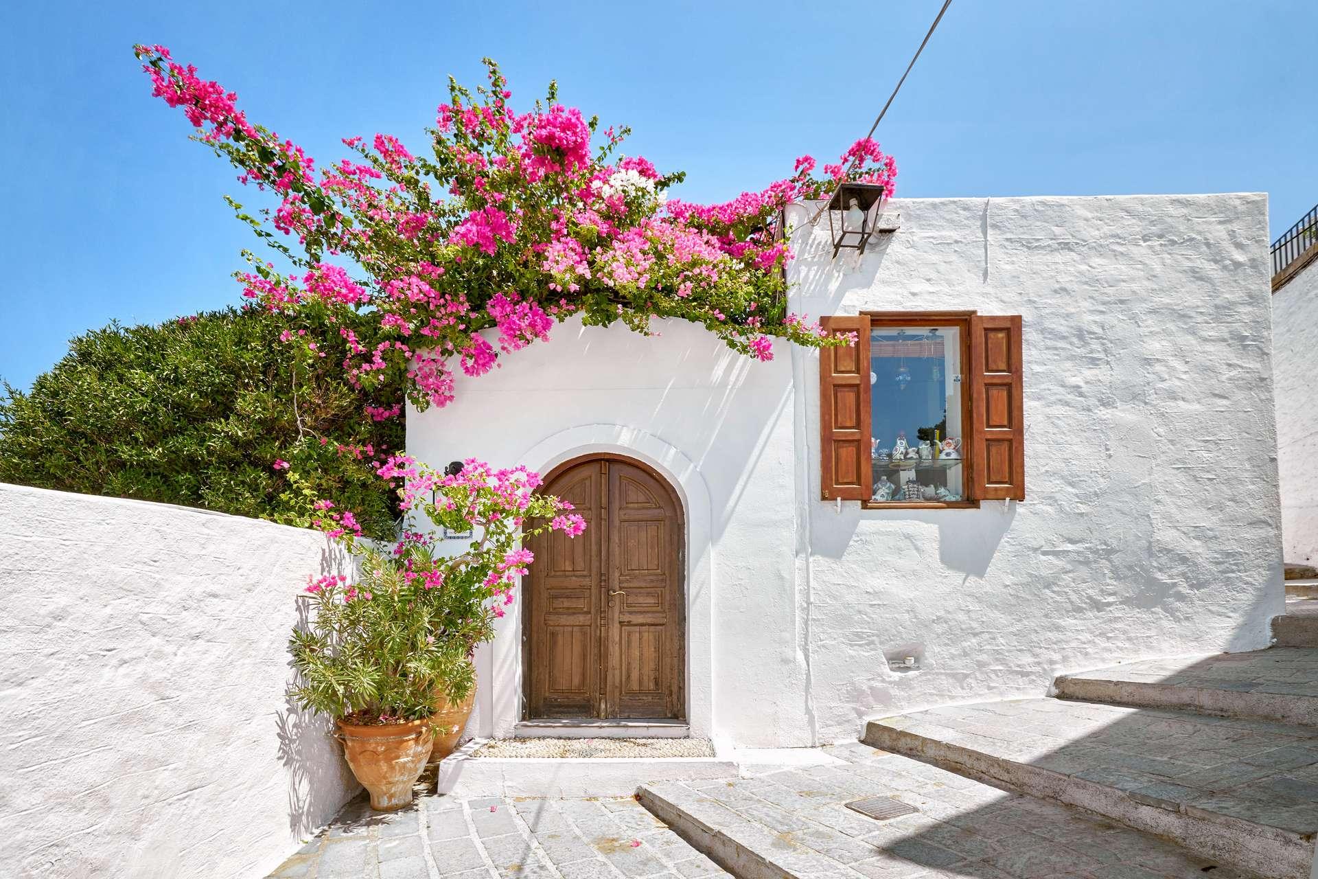Griekenland Rhodos Lindos town