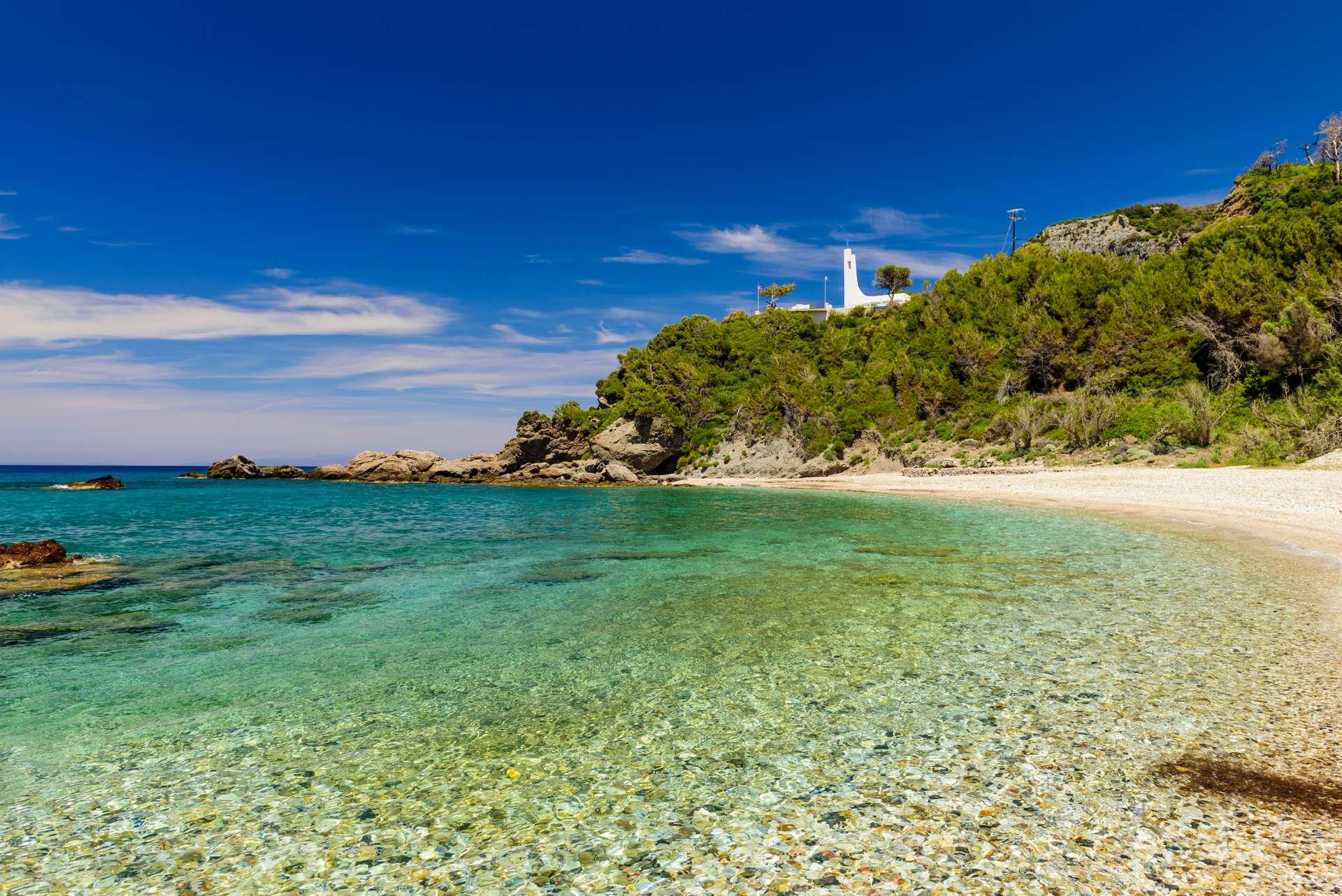 Griekenland Samos Scenic Potami Beach