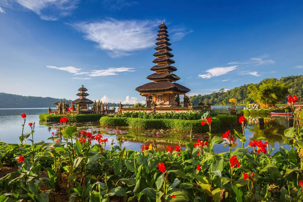 Indonesië Bali Pura Ulun Danu Bratan