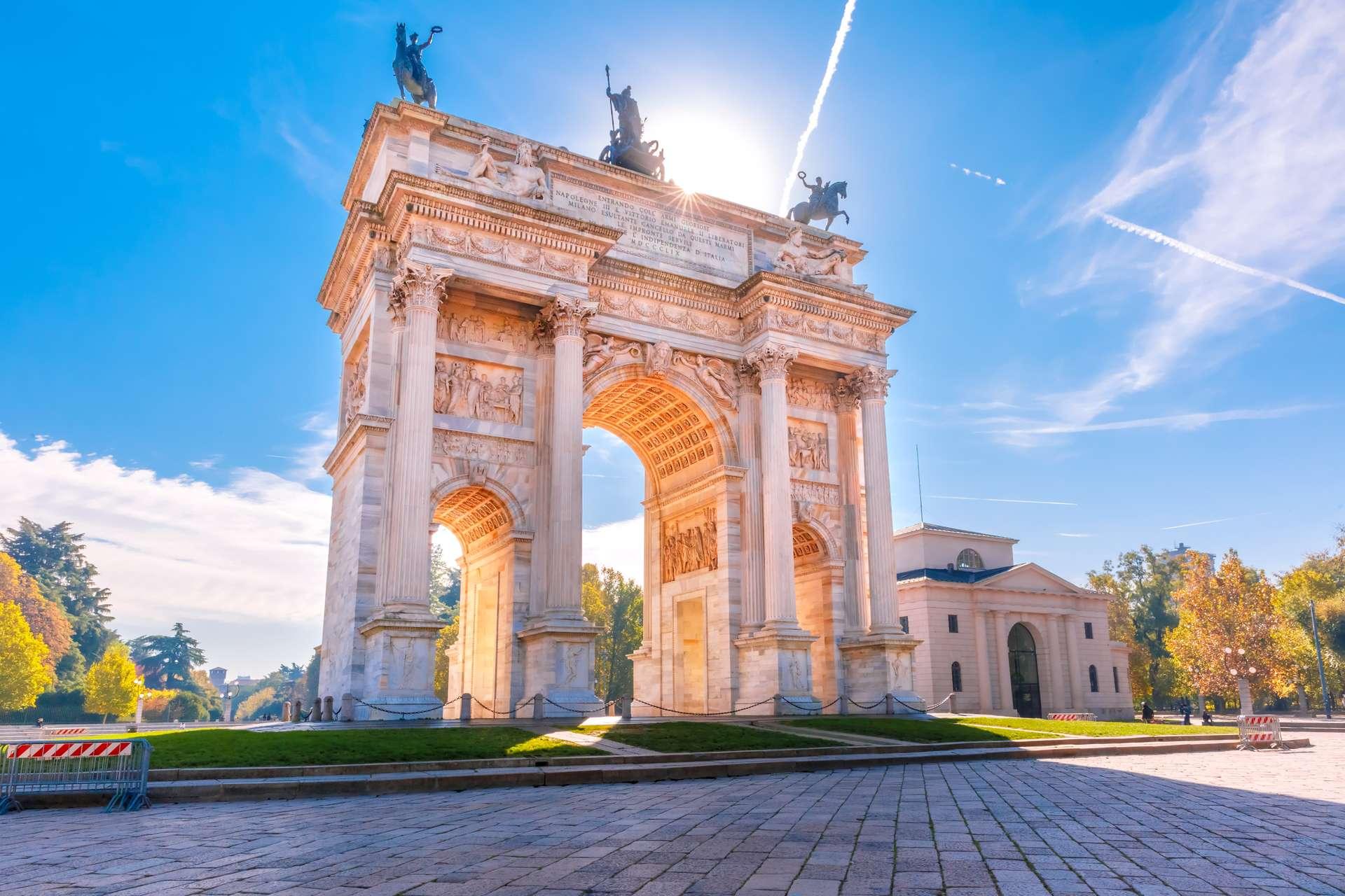 Italie Milaan Arco Della Pace