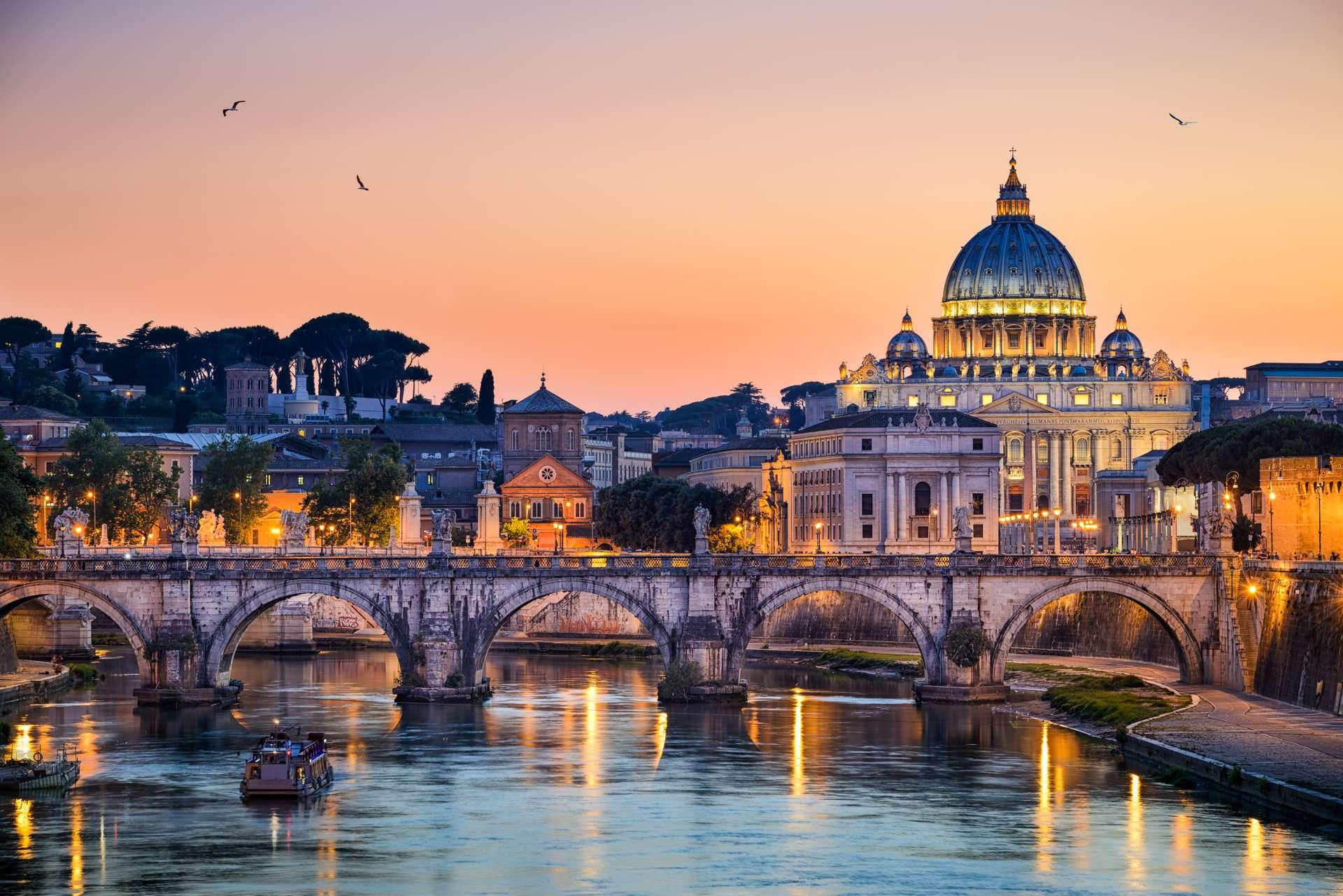 Italië Rome Basilica St. Peter