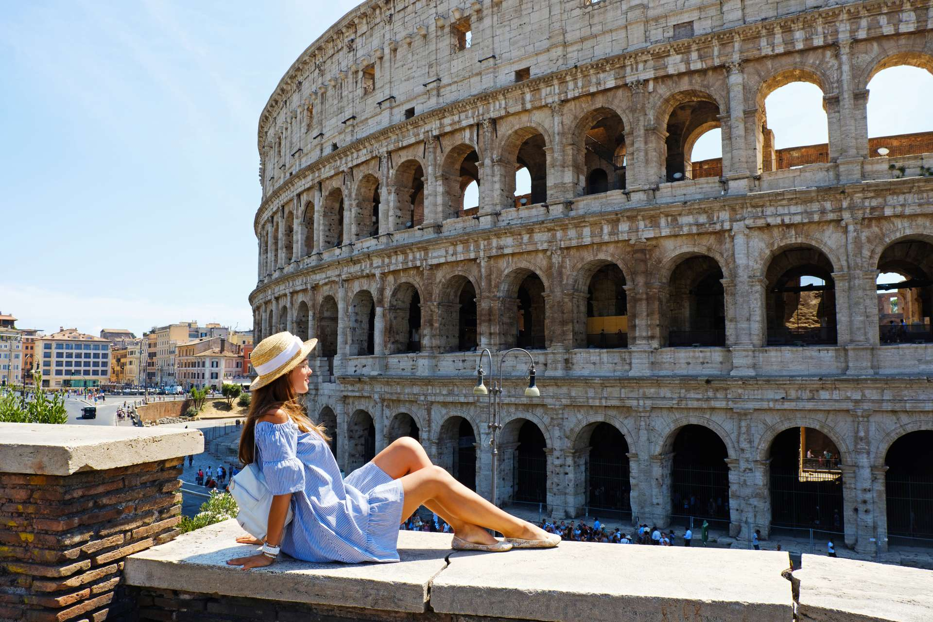 Italië Rome Coliseum