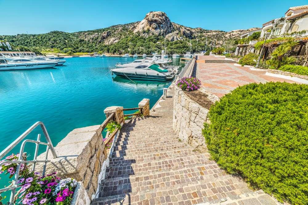 Italië Sardinië Poltu Quatu Boten