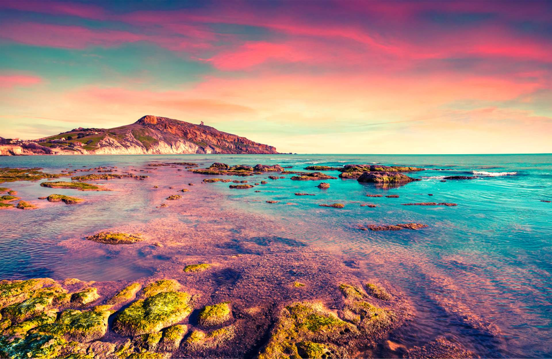 Italië Sicilië Giallonardo beach