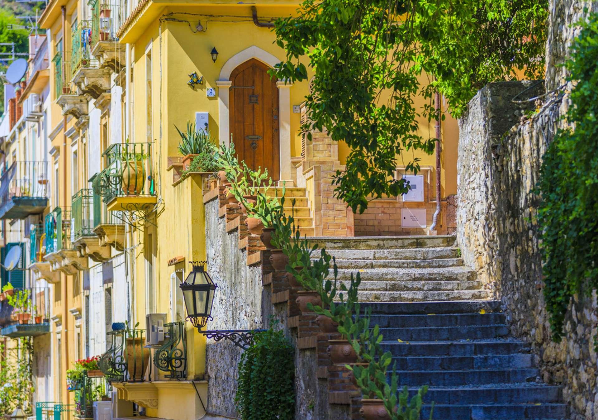 Italië Sicilië Torimina