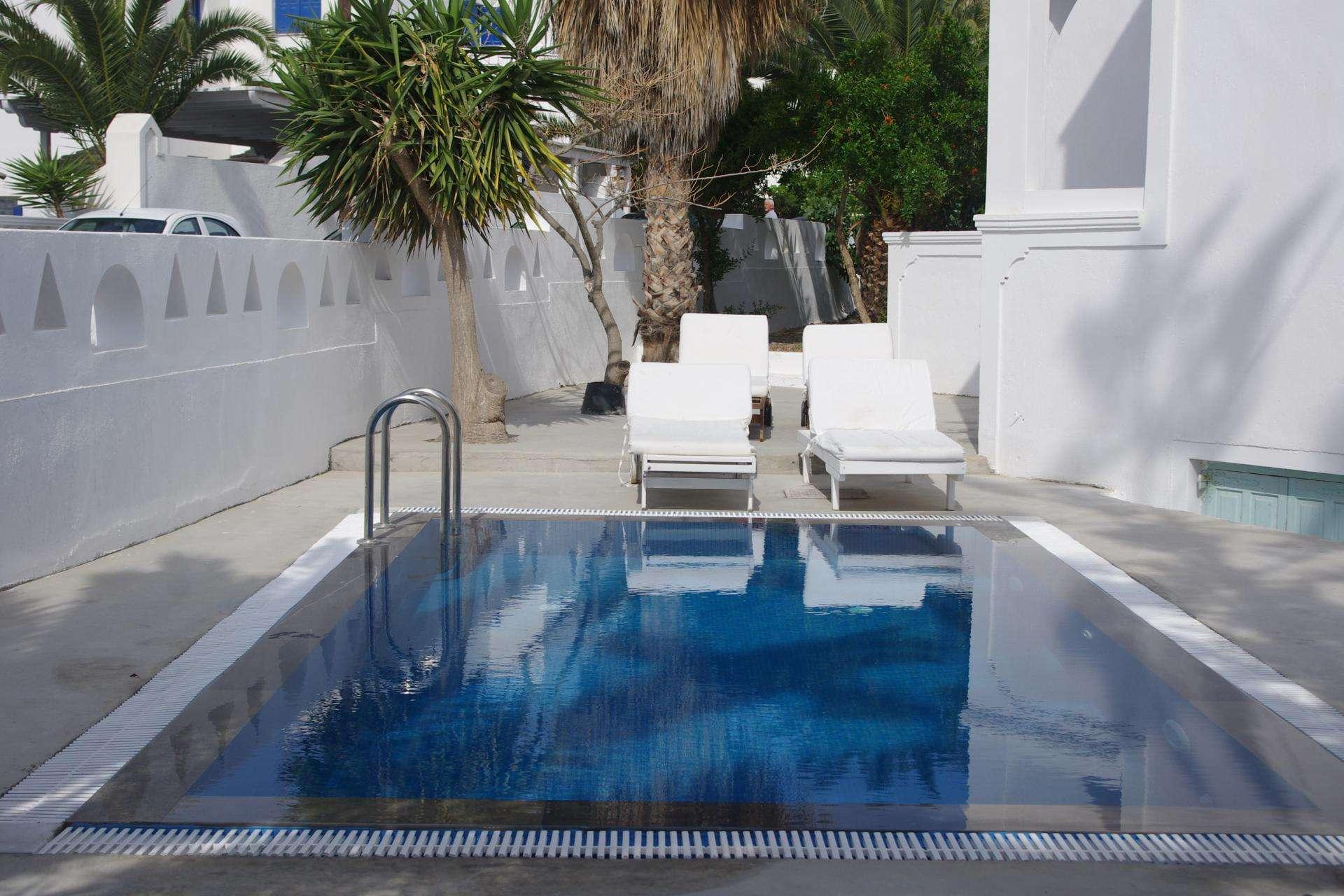 Kymata appartementen zwembad