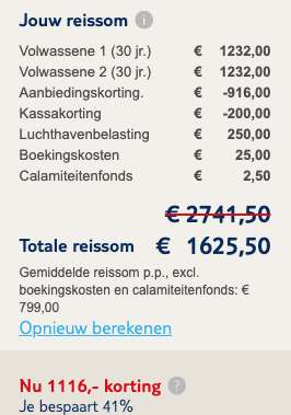 Le Palmiste resort & spa €799