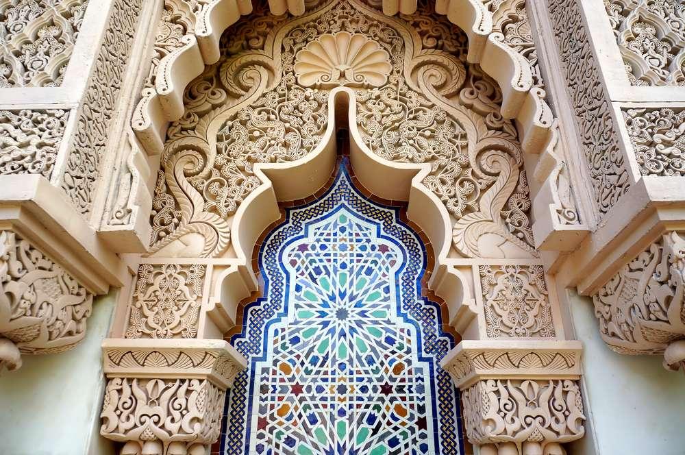Marokko architecture traditional design